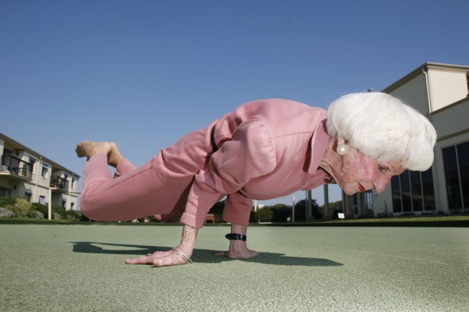 100 jaar worden fit en gezond