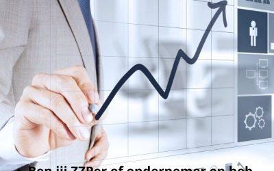 Ben jij ZZPer en of ondernemer?